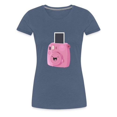 Appareil photo instantané rose - T-shirt Premium Femme