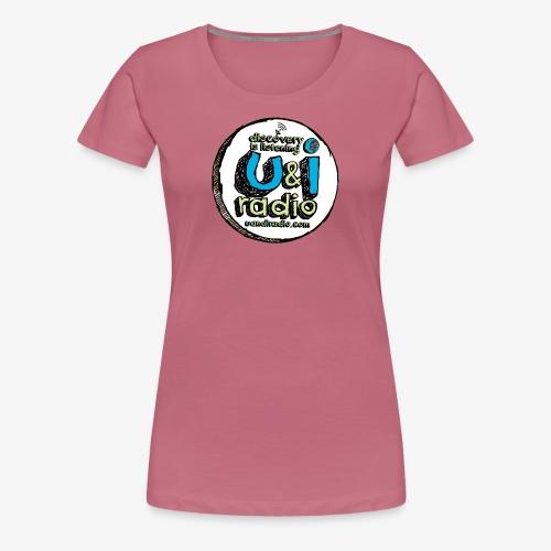 U & I Logo - Women's Premium T-Shirt