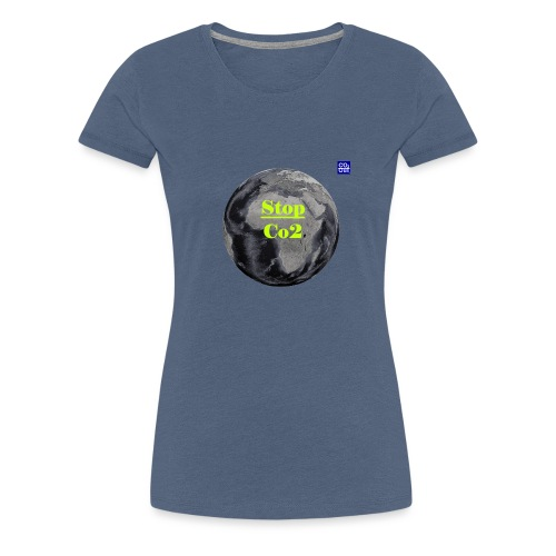 Co2-OuT! Save the Planet and your self! - Frauen Premium T-Shirt