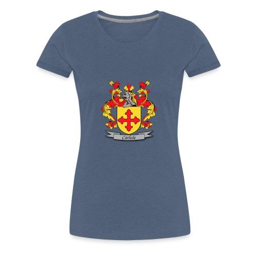 Carlisle Family Crest - Women's Premium T-Shirt