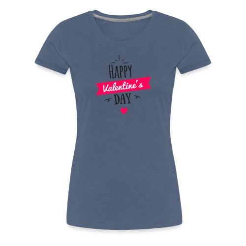 Valentinstag Liebe Freund Freundin Geschenk Idee - Frauen Premium T-Shirt