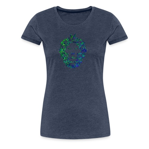 Löwen Kopf - Frauen Premium T-Shirt