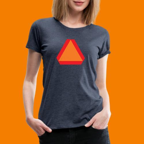 Långsamt gående - Premium-T-shirt dam