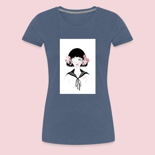 Flowerhead - Women's Premium T-Shirt