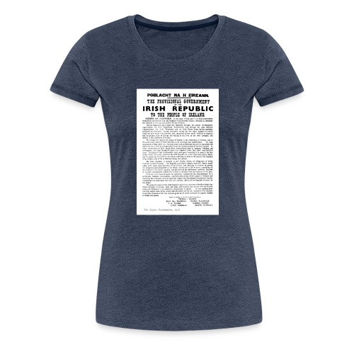 Irish proclamation - Women's Premium T-Shirt
