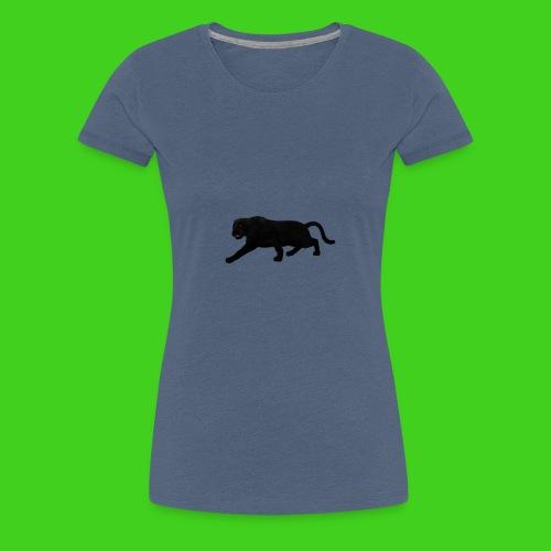 panthere noire - T-shirt Premium Femme