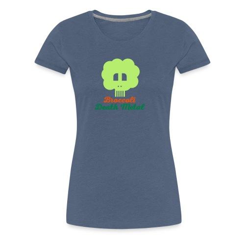 broccoli death metal 10 - Frauen Premium T-Shirt