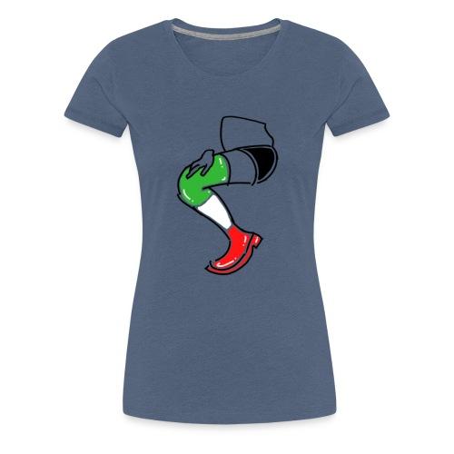 Italia T-Shirt Herren: Stiefel - Frauen Premium T-Shirt