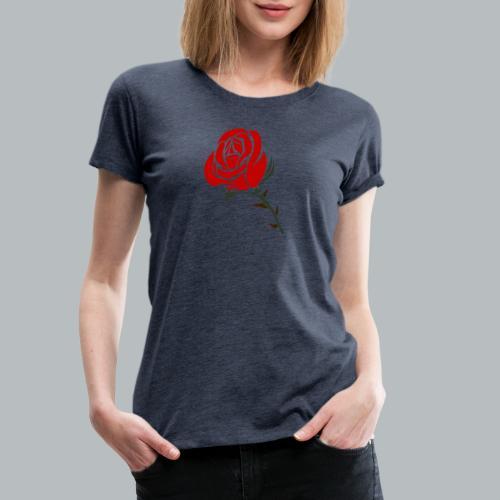 Ros - Premium-T-shirt dam