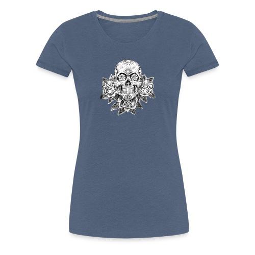 Tribal Skull - Maglietta Premium da donna