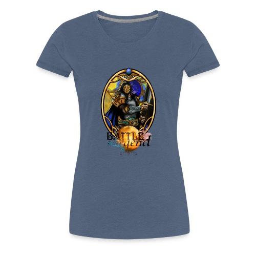 Battle for Legend : Guerrier Impérial - T-shirt Premium Femme