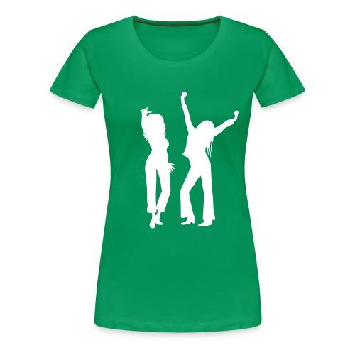 hagirlsblackv - Women's Premium T-Shirt