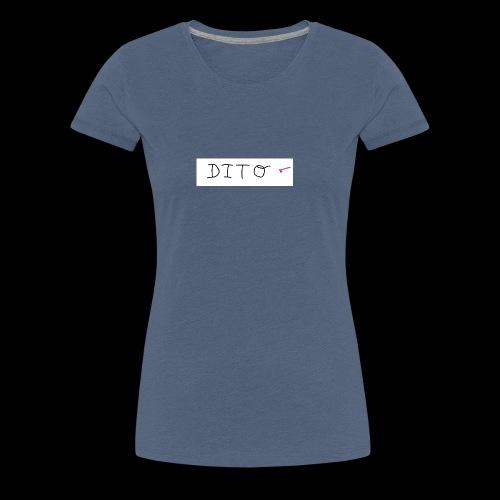 dito - Camiseta premium mujer