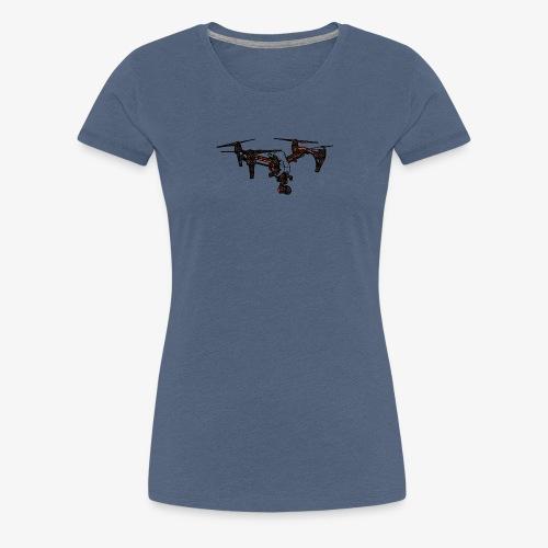 inspire-007 | for real dronRs - Frauen Premium T-Shirt
