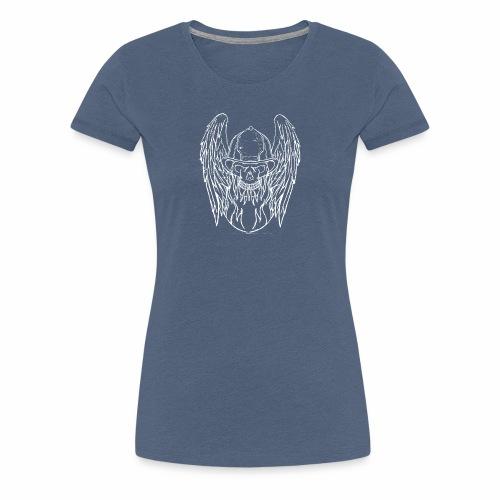 Skull Angel - T-shirt Premium Femme