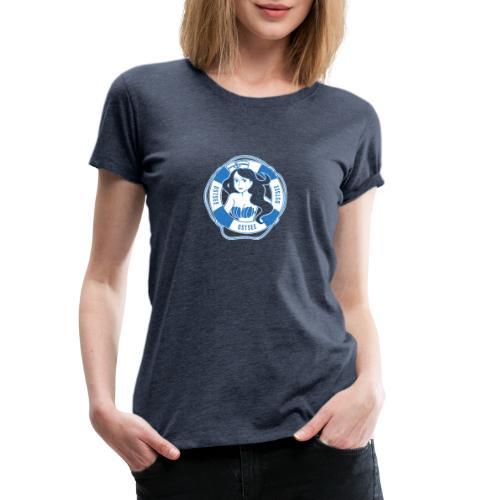 Ostsee-Nixe - Frauen Premium T-Shirt