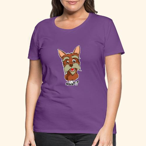 Nice Dogs schnauzer 2 - Maglietta Premium da donna