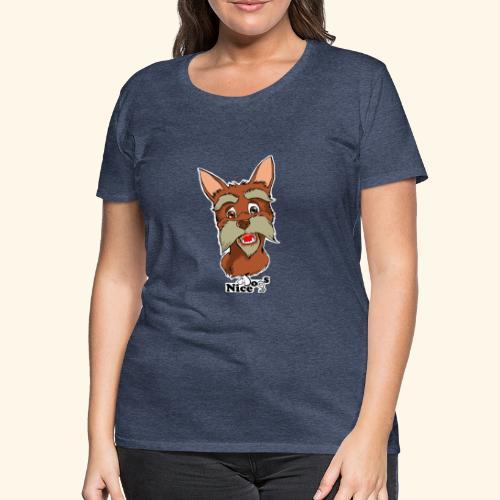 Nice Dogs schnauzer - Maglietta Premium da donna