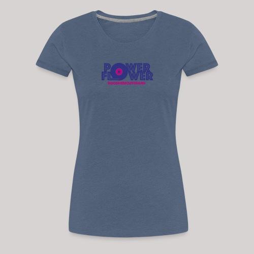 Logo PowerFlower colori - Maglietta Premium da donna