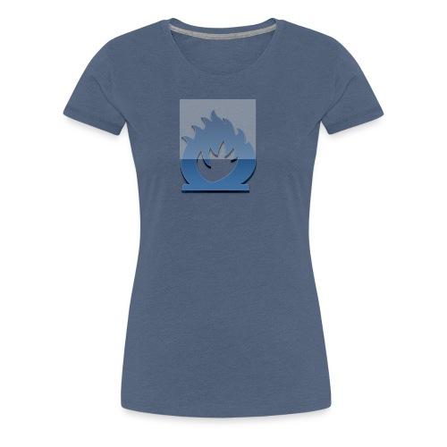 fuoco blu - Maglietta Premium da donna