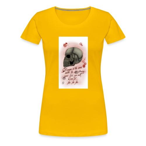 Sketch182181946-png - Camiseta premium mujer