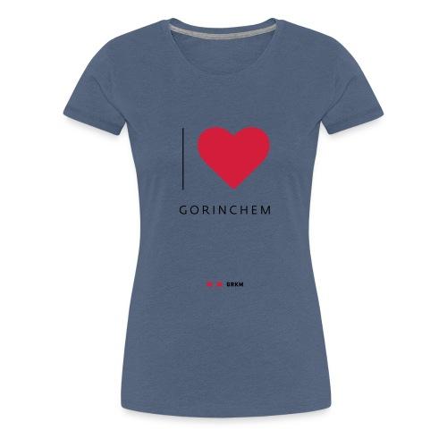 I love Gorinchem - Vrouwen Premium T-shirt