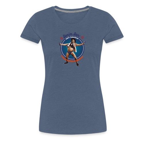 Denim Dan - Premium-T-shirt dam