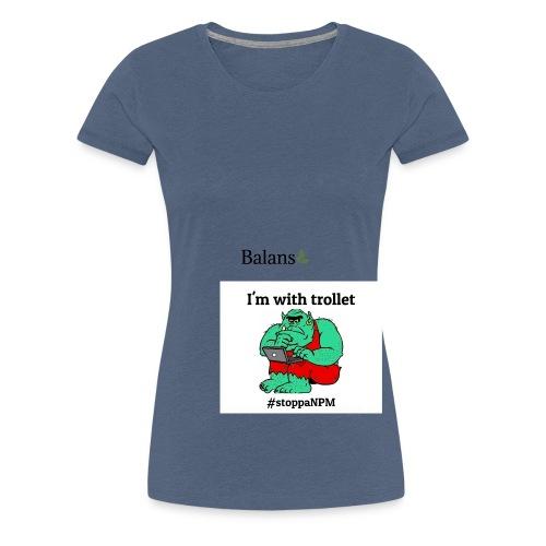skolinkvisitionen - Premium-T-shirt dam