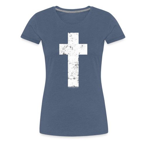 Holy Cross Vintage - Women's Premium T-Shirt
