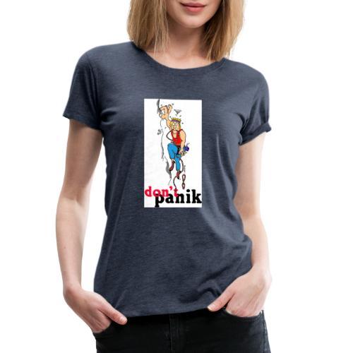 kletterer shirt kl - Frauen Premium T-Shirt