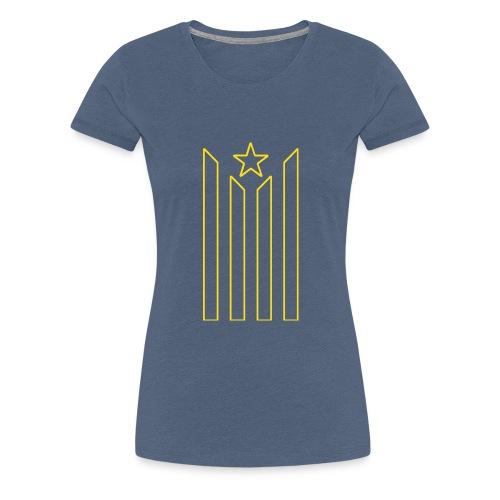 estelada jaune - T-shirt Premium Femme