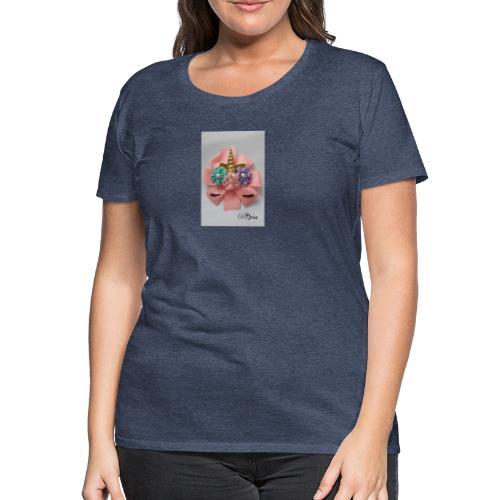 Moño de unicornio - Camiseta premium mujer