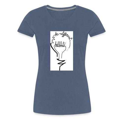 camiseta-original-chico-modelo-bulbbite-logo-bulb- - Camiseta premium mujer