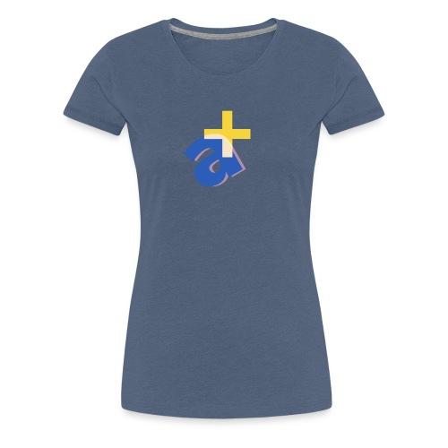 Monograph Letter A Design - Frauen Premium T-Shirt