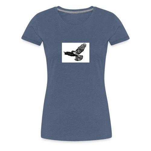 Haukka - Naisten premium t-paita