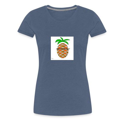PINEAPPLE REEBOOT 6/6S COVER HVID - Dame premium T-shirt