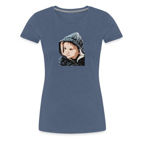 lolo capuche dessin - T-shirt Premium Femme