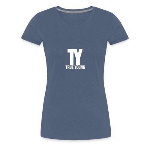 True Young Hoodie Black | Unisex - Vrouwen Premium T-shirt