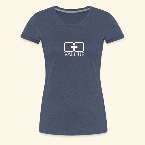 Valliue Blue collection - T-shirt Premium Femme