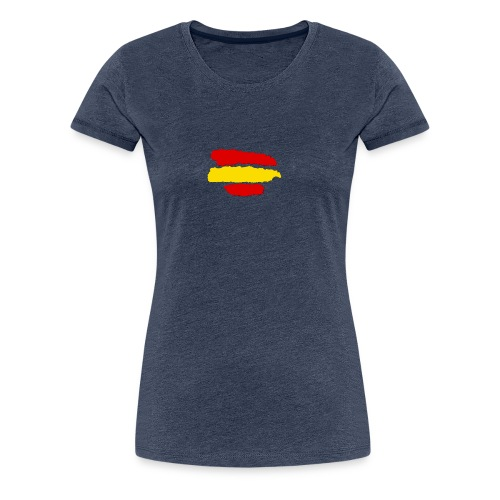 rayas de españa - Camiseta premium mujer