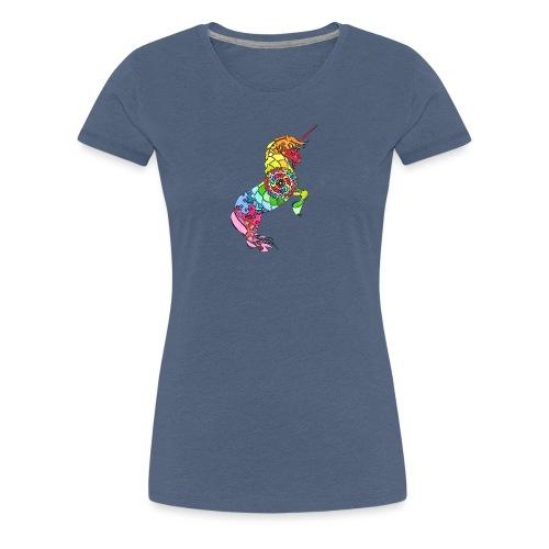 Einhorn Motiv 3 - Frauen Premium T-Shirt