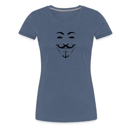 AS FACCIA - Maglietta Premium da donna
