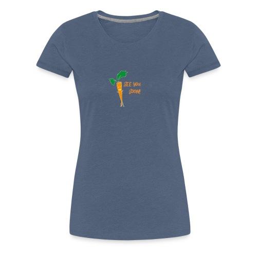 Karotte - Frauen Premium T-Shirt