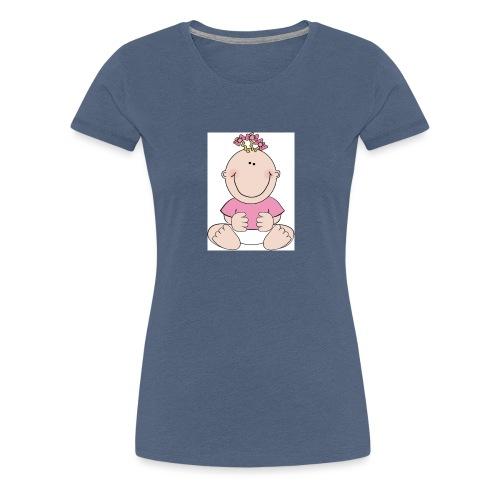 rompertje meisje - Vrouwen Premium T-shirt