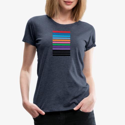 Lines - Maglietta Premium da donna