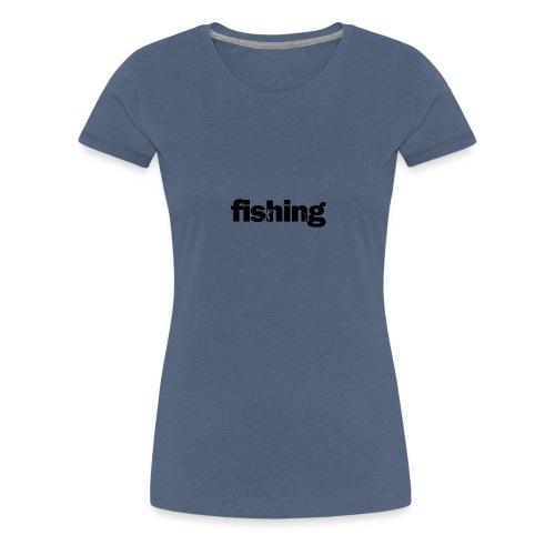 Word Fishing - Camiseta premium mujer