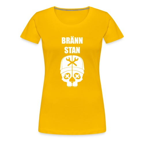 Bränn stan - Premium-T-shirt dam
