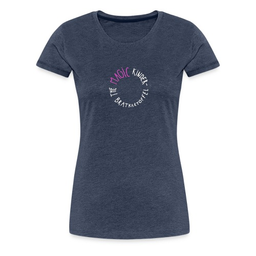 The Magic Kinderbratkartoffel Logo [w/p] - Frauen Premium T-Shirt