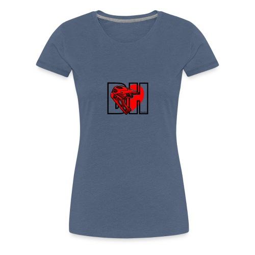 I love Downhill - Camiseta premium mujer