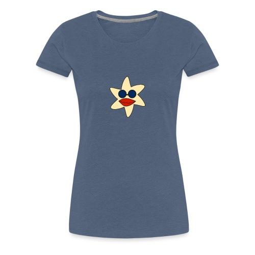 seestern mit sonnenbrille - Frauen Premium T-Shirt
